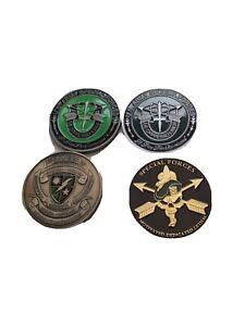 ,  commemorative  u s special forces 4 coin set