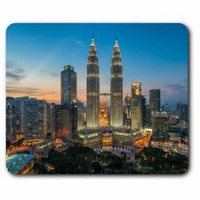 Computer Mouse Mat - Kuala Lumpur Malaysia Towers Office Gift #21775