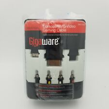 New listing Gigaware Universal Composite S-Video Gaming Cable #2601434 Nib Ps3, Wii, Xbox360