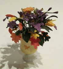 Willitts Designs Forget Me Nots Miniatures Clay Flowers Canadian Spirits