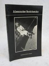 ALEXANDER RODCHENKO Introduction by SERGE LEMOINE 1987 Pantheon Books First Ed.