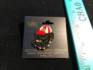 Georgia Bulldogs Pin - NEW OLD STOCK - Great Looking Bulldog with Georgia Cap