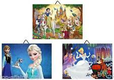 3 Cadres / Tableaux  chambre enfant Princesse Disney 02