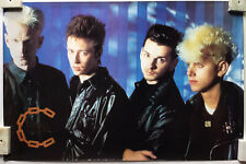 depeche Mode Very Rare Mid 80's Group Photo Poster