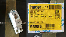 Interrupteur Hager 2 poles 25A