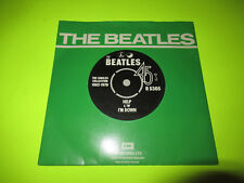 "THE BEATLES - HELP / I'M DOWN 7"" 45 UK PICTURE SLEEVE"