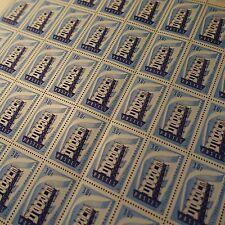 FEUILLE SHEET SELLO EUROPA Nº1077 x50 1956 NEUF LUXE MNH CARA