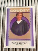Wayne Gretzky - 2019 UD Goodwin Champions Goudey Lenticular 3D SP Card# GL-8 HOF