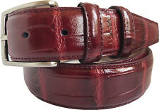 Mens Burgundy Belt for sale | eBay