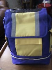 Fabulous Jerzees Backpack Royal Blue & Bright Yellow BNWT