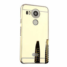 Acrylic Metallic Mobile Phone Fitted Cases