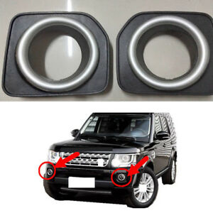2X Car Front Fog Lamp Cover NObulb L&R For Land Rover Discovery 4/LR4 2014-2016