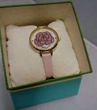 NWT Kate Spade KSW1257 Metro Rose Mother of Pearl Womens Watch NEW