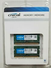 4GB Kit Crucial 2x 2GB DDR3L 1066MHz Sodimm Memory Apple Mac Macbook Compatible