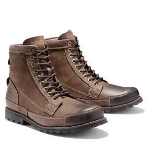 Timberland Mens Earthkeeper 6 Inch Brown Chukka Desert Boots Size 10 - 10.5