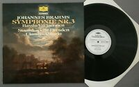V717 Brahms Symphony No.3 Haydn Variations Abbado DGG 2535 293 Stereo PROMO