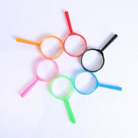 3pcs 8CM CHILDREN KIDS MAGNIFYING GLASS BUG VIEWER TOY SUPER ZOOM EXPLORE ZB1X