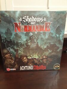 New SHADOWS OVER NORMANDIE BOARD GAME cthulhu lovecraft war strategy iello 2015