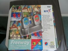 BT Freeway 2 way personal mobile radio and charger in box. No batteries included