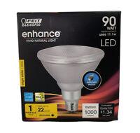 FEIT 11.1 watts PAR38 LED Bulb 1000 lum Soft White Floodlight 90 Watt
