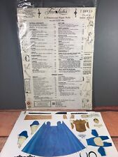 Monte Models First Ladies 3 Dimensional Paper Dolls Complete Set Of 7 19C