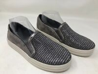 New!! Women's Skechers DOUBLE UP-SHINY DANCER(801) Pewter beaded shoe 30T