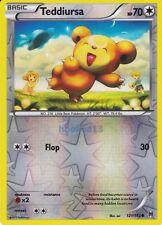 Teddiursa Common Reverse Holo Breakthrough Pokemon Card 121/162