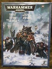 Games Workshop Warhammer 40k Space Marine Space Wolves Battle force