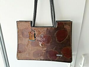 Ladies serenade beverly hills collection  brown  hand bag new gen/leather