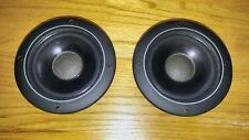PAIR Infinity 902-4315 Midwoofers used in SM-152 SM-122 Speakers