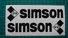 IFA Simson  Aufkleber Set