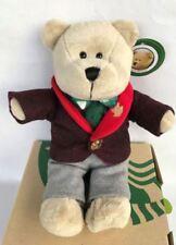 Starbucks Thailand Bearista Teddy Bear Doll Boy 2017 Christmas Limited Edition