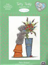 DMC me to you tatty teddy frais bouquet de roses Cross Stitch Kit
