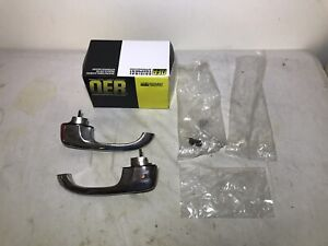 1966-1967 Chevy II Nova Outside Front Door Handle Set Exterior Driver/Passenger