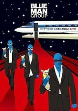 BLUE MAN GROUP HOW TO BE A MEGASTAR DVD + CD BRAND NEW FACTORY SEALED
