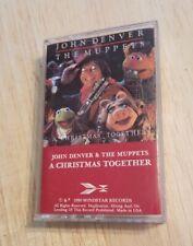 A  Christmas Together John Denver Muppets  Sesame Street Holiday Music cassette