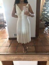White Cocktail Dress, Nordstrom, Suzi Chin For Maggie Boutique Size 2