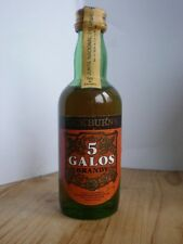 Cockburn's 5 Galos Brandy 30 Jahre alt years old Miniatur Mini Vintage