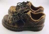 Dr. Martens Air Wair 10940 Brown Leather Oxford Shoes Casual Mens Size 8 Lace Up