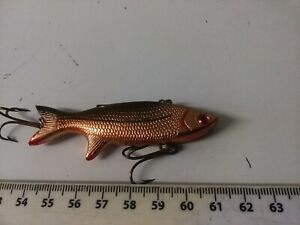 VERY RARE, VINTAGE ABU-- SNOKY-- PIKE, BASS, SEA, TROUT  FISHING LURE