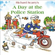 A Day at the Police Station by Richard Scarry (Paperback, 2014)