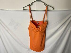 NWT ANN TAYLOR LOFT SWIMSUIT TOP BATHING SUIT PEACH PINK WOMENS SIZE XL 16/18
