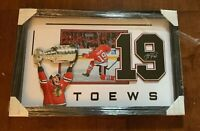 Jonathan Toews Chicago Blackhawks Stanley Cup Champion 3D Framed Display
