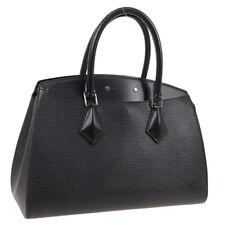 LOUIS VUITTON BREA MM HAND BAG PURSE BLACK EPI LEATHER M40329 FL4195 02233
