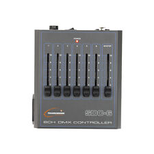 Transcension SDC 6 DMX CONTROLLER 6 CHANNEL 6ch DESK Illuminazione