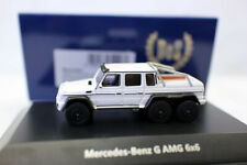 Best of Show BOS 1/87 Mercedes-Benz G63 AMG white resin car model for collection