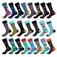 Men Art British Street Fashion Hip Hop Hot Individuality Designer Colorful Socks