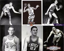 1948 Olympic USA Basketball Signed 8x10 Lot of (6) Auto Autograph Wallace Jones