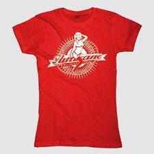 Hurricane Festival 2010 - Pin-up Girlie Shirt rot/red - Gr./Size M, NEU, OVP