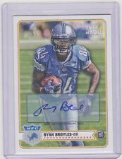 Ryan Broyles 2012 Topps Magic Football RC Auto Autograph Lions  #188
